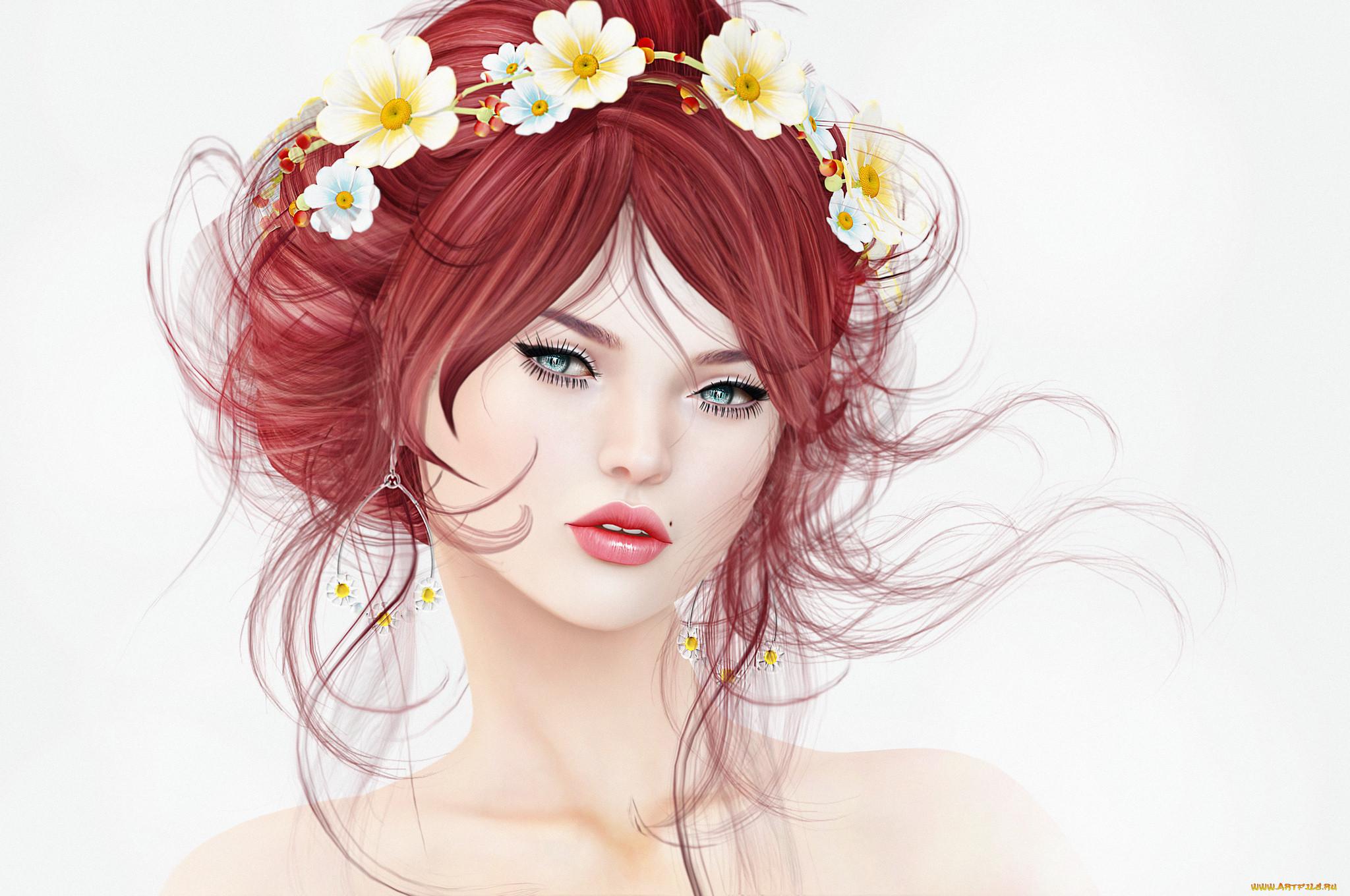 Красавицы в картинках и рисунках